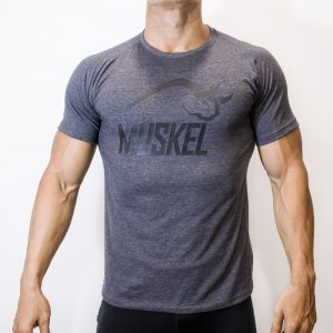 Camiseta Muskel Fabric Gris Oscuro